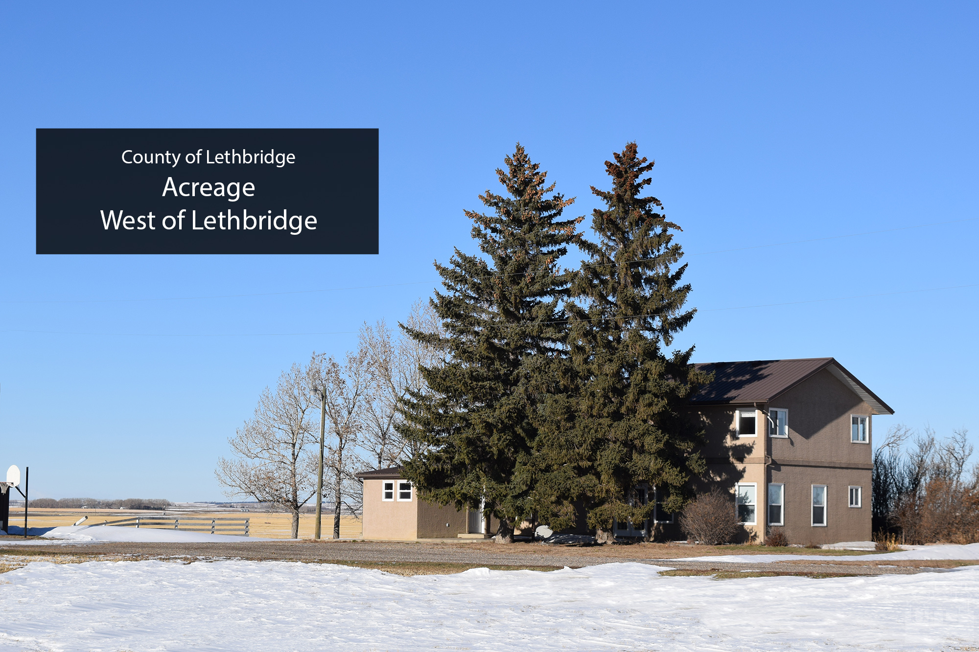 SE 32-9-22 W4  (House and Shop only) County of Lethbridge Key Image