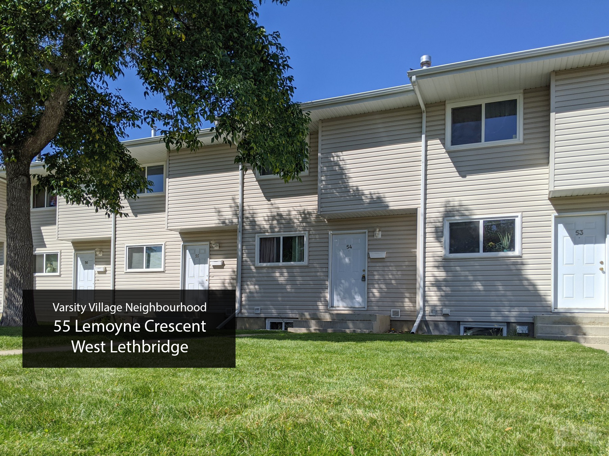 55 Lemoyne Crescent West Lethbridge (Unit 54) Key Image