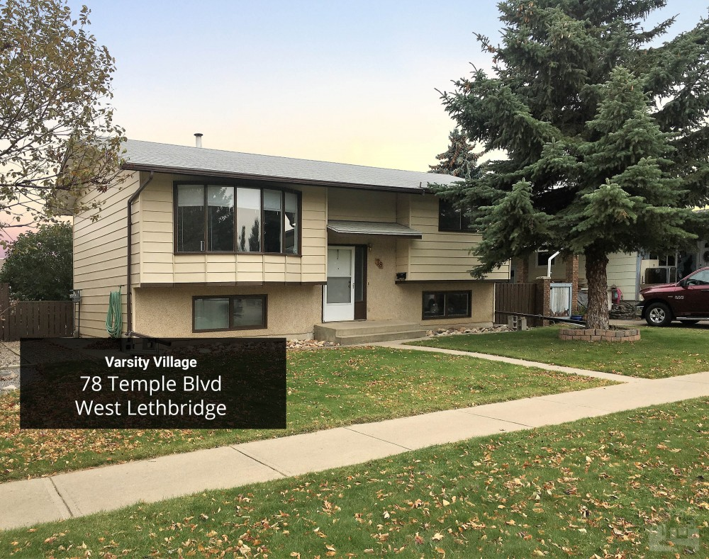 78 Temple Boulevard West Lethbridge Key Image